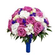 Букет для невесты и бутоньерки заказы цветов по алматы